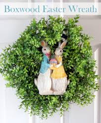 boxwood easter wreath do more for less