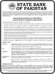 Assistant Accountant Job Description Deputy Assistant Directors Job Opportunity 2017 Jobs Pakistan