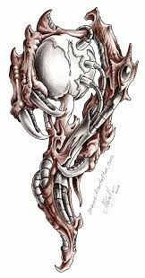 biomechanical tattoos and designs page 54