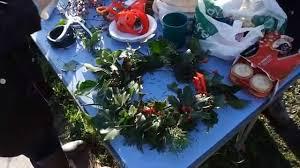wansbeck hospital community garden christmas wreath making event