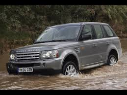 land rover range rover 2008 2008 land rover range rover sport front and side water