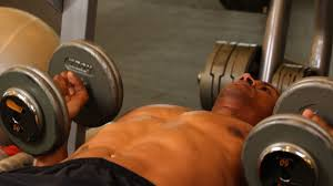 how to do palms in dumbbell bench press chest workout youtube