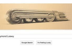 design a google logo online raymond loewy google doodle celebrates birthday of man who designed