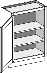 what is the depth of a base cabinet shallow base cabinet w single door bwd csbfd