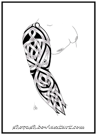 39 best black and white tattoo sleeve template images on pinterest