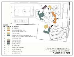 Phoenix College Campus Map by American International Of Kingston Campus Map