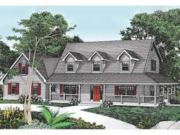 Traditional Cape Cod House Plans Inspiration 40 Cape Cod Floor Plans With Wrap Around Porch