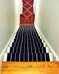 Rug For Stairs Steps Diy Stair Runner Little Green Notebook