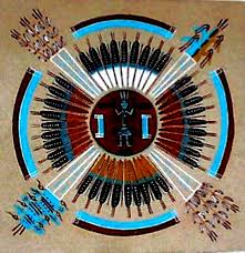 native american sand painting a history of graphic design chapter