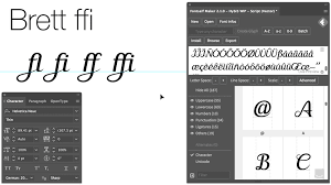 fontself make your own fonts in illustrator u0026 photoshop cc the
