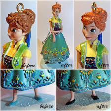 frozen fever ornament before after i got the frozen f flickr