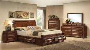 Island Bedroom Furniture by Mollai Collection 7pc Bedroom Set With Rustic Cherry Finish