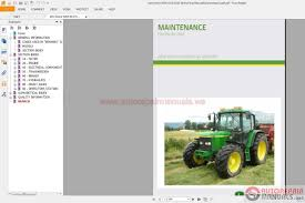 john deere 6020 series repair manuals 6020 to 6920s auto