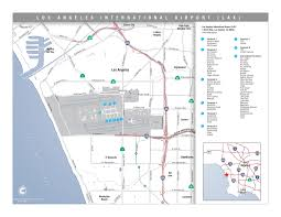 Greater Orlando Area Map by Los Angeles International Airport Area Map Los Angeles