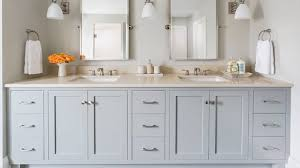 traditional bathroom mirror great white double washstand with pottery barn kensington mirrors in