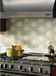 Crossville  Hexagon Tiles Kitchens And Kitchen Installation - Hexagon tile backsplash