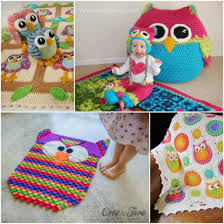 Crochet Owl Rug Crochet Owl Projects Country Living Downunder