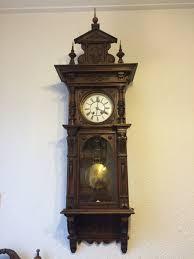 German Clocks Antique German Lenzkirch Wall Clock By Din973 E34 Youtube