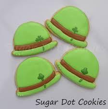 sugar dot cookies st patrick u0027s day decorated sugar cookies