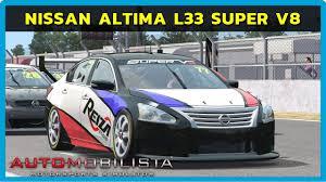 nissan altima 2016 australia automobilista nissan altima l33 super v8 em winton youtube