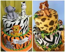 zoo themed birthday cake cake for your baby s birthday with animal shapes trends for girls