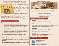bulletin printing template church bulletins free good info on