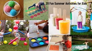 children activities 20 fun summer activities for kids i dig pinterest