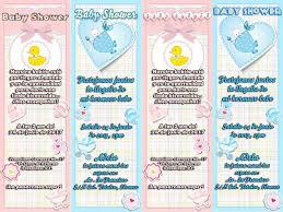 modelos de invitaciones de baby shower
