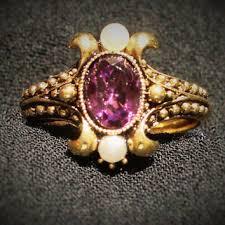 vintage unicorn ring holder images Best vintage avon ring products on wanelo jpg