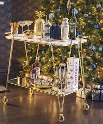 modern drink table modern christmas decorating ideas christmas decorating ideas