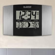 Wall Clock Crosse Technology Digital Atomic Wall Clock