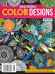 color designs inspiring color designs april 2016 kappa publishing adult coloring