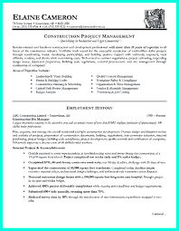 project manager resume example construction project manager resume for experienced one must be find this pin and more on resume sample template and format construction project manager