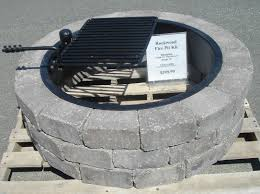 Firepit Insert Concrete Block And Brick Products Pit Insert Ship Design
