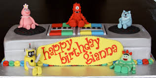 yo gabba gabba birthday cake u2014 marifarthing blog ways