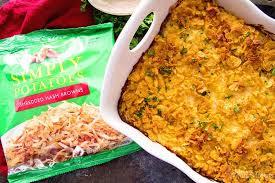 Chicken Main Dish - cheesy hash brown chicken casserole julie u0027s eats u0026 treats