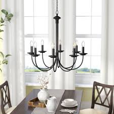Candle Style Chandelier Laurel Foundry Modern Farmhouse Shaylee 8 Light Candle Style