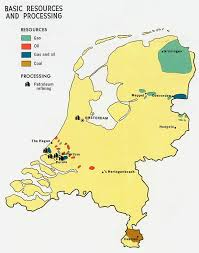map netherlands file netherlands basic resources and processing map 1970 jpg the
