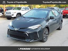 toyota corolla 2018 new toyota corolla se cvt at toyota of fayetteville serving