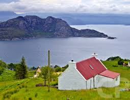 Rent Cottage In Ireland by Striking With The Red Roof Croft House Pinterest Irish