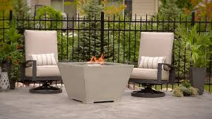 Patio Furniture Cove - cove 2424 gas fire pit table youtube