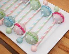 baby rattle cake pops baby rattle cake pops cake pops and stand cake