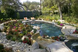 backyard pool landscaping designs houzz