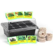Chef U0027s Herb Garden Seed Starter Kit Chp102216 The Home Depot