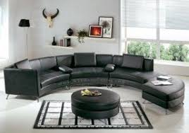 Circular Sectional Sofa Curved Leather Sectional Sofa Foter