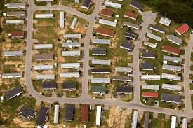 manufactured housing solutions ibts a near vertical aerial abstract of a manufactured home park