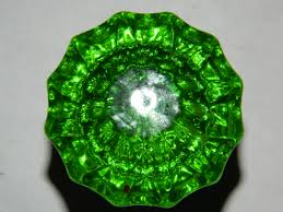 glass door knob rosette privacy oval fluted crystal glass