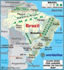 map of brazil brazil map geography of brazil map of brazil worldatlas