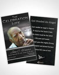 funeral prayer card template free 28 images 8 best images of