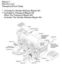 peri pro shutter release repair kit installation